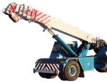 Non-Slewing Crane Licence, Franna licence, High Risk Work Licence